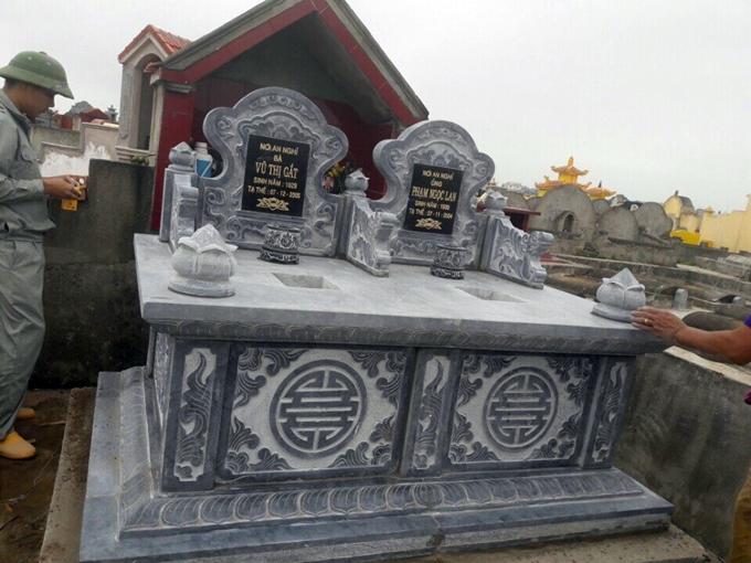 mộ đôi đẹp