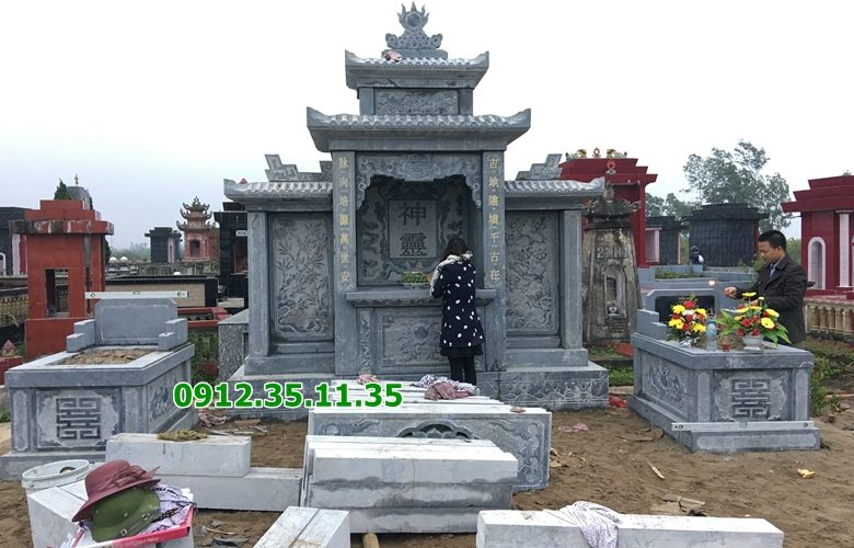 lắp đặt khu lăng mộ thái bình