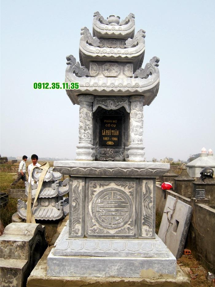 mộ đá ba mái MF 06