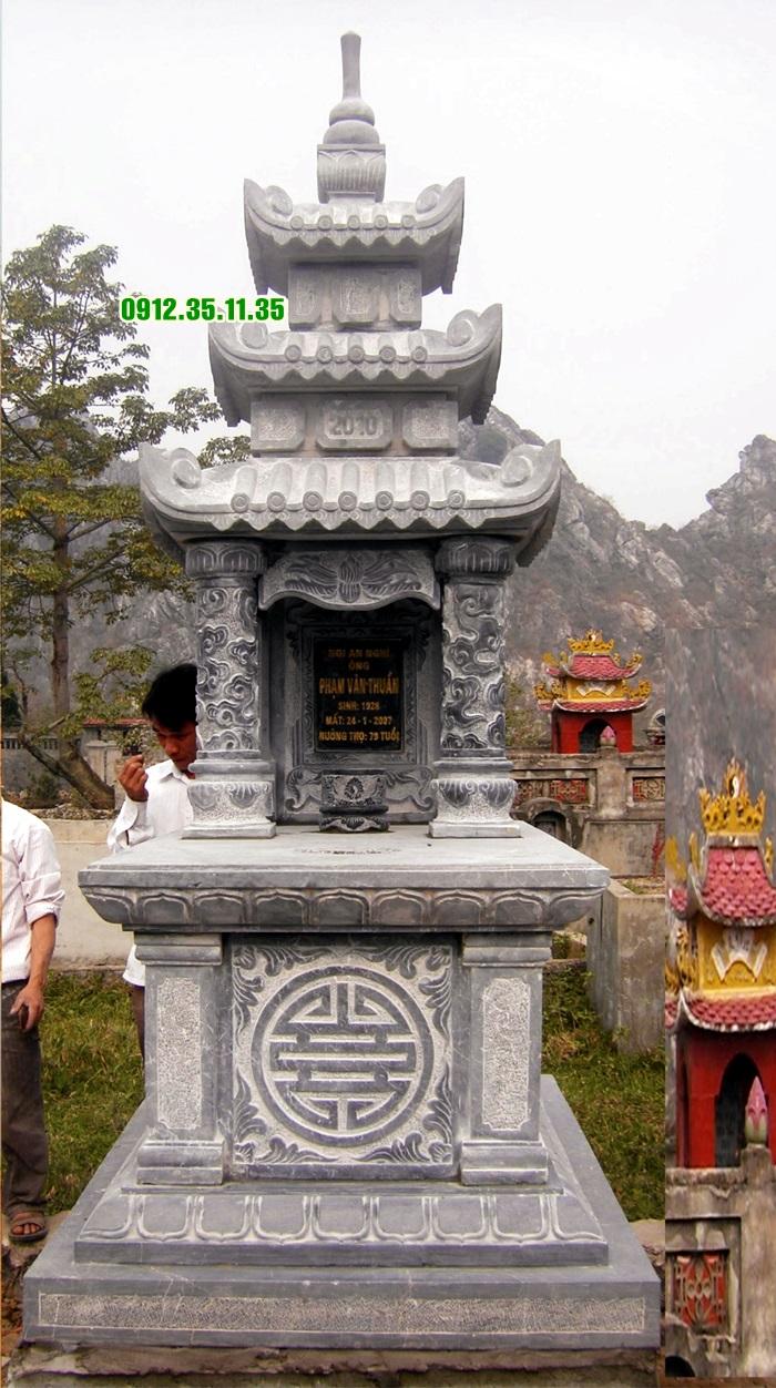mộ đá ba mái MF 09