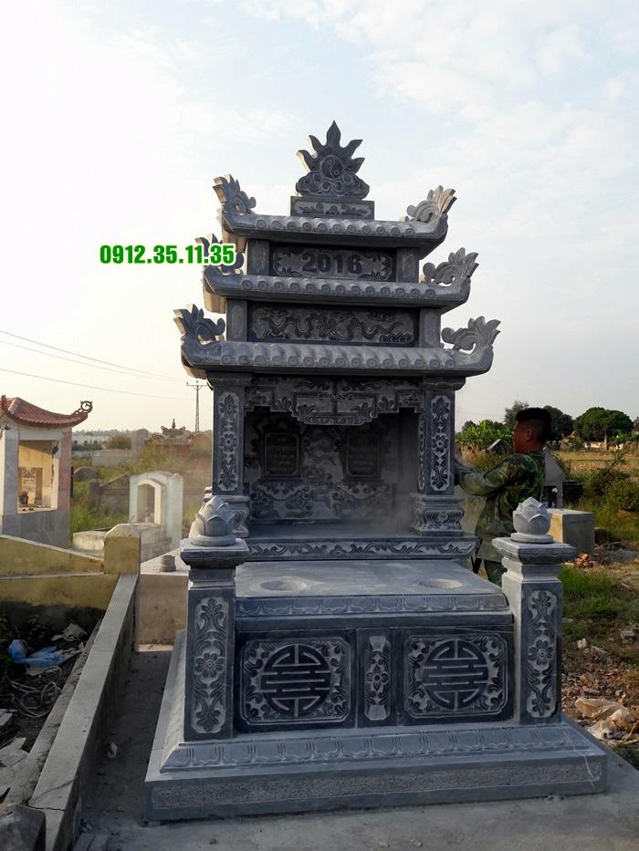 mộ đá ba mái MF 12