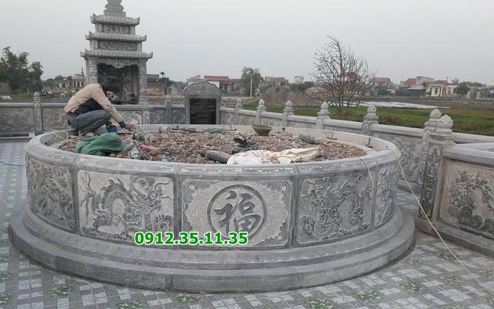 mộ tổ hình tròn