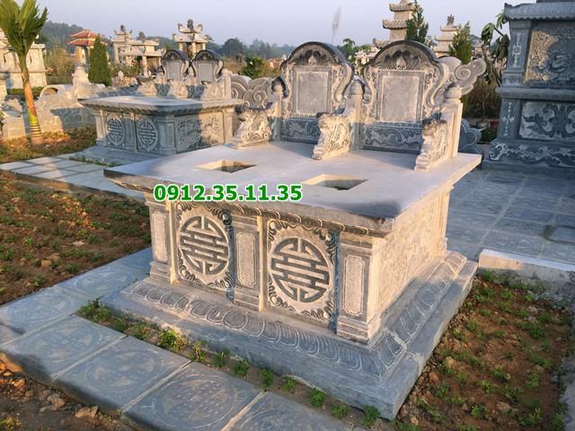 Mẫu mộ đá đôi 21