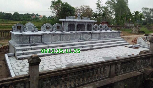 Mẫu mộ dành cho nhiều người